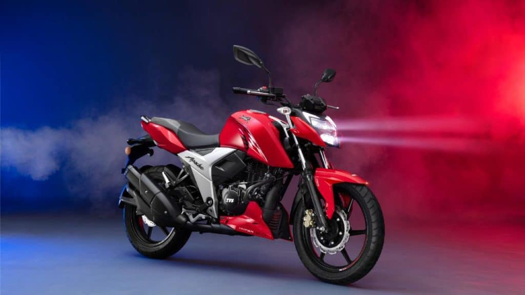 2021 TVS Apache RTR 160 4V launched in Bangladesh