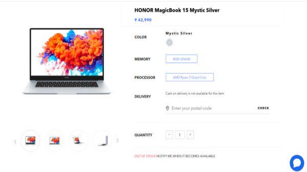 Honor MagicBook 15 Next Sale Date Everything You Need To Know