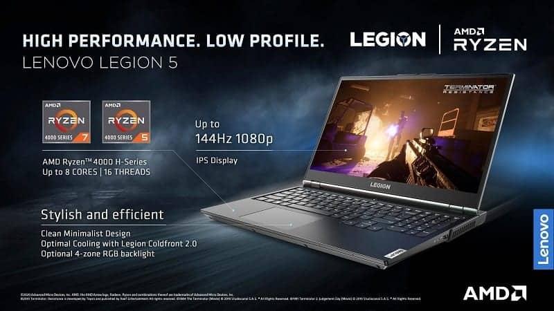 Lenovo launches Legion 5 gaming laptop in India