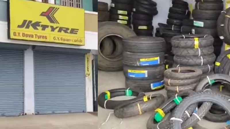 Tyre Shop Theft - Updatenews360