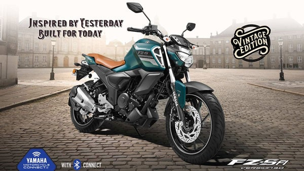 Yamaha FZS FI Vintage edition launched in India