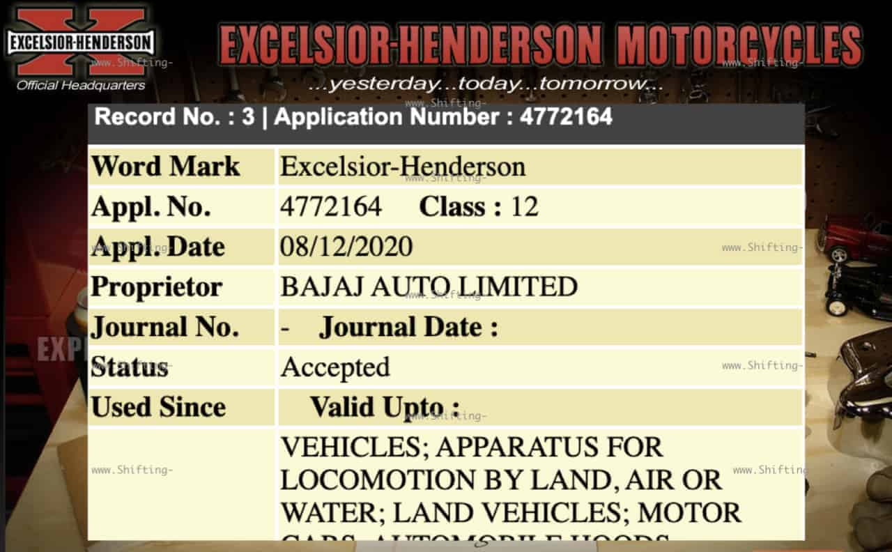 Bajaj Auto To Introduce Excelsior-Henderson Motorcycles In The Indian Market