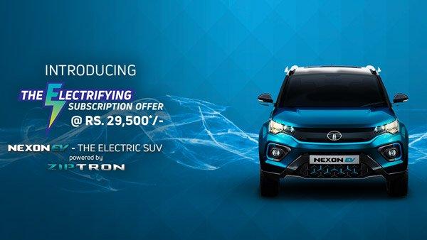 Tata Motors Reduce Subscription Prices For Nexon EV: