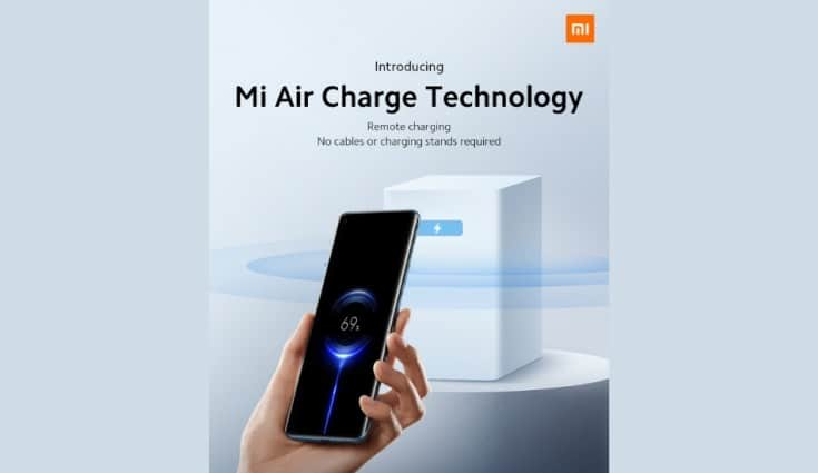 Xiaomi unveils 'Mi Air Charge', technology that can charge devices over-the-air