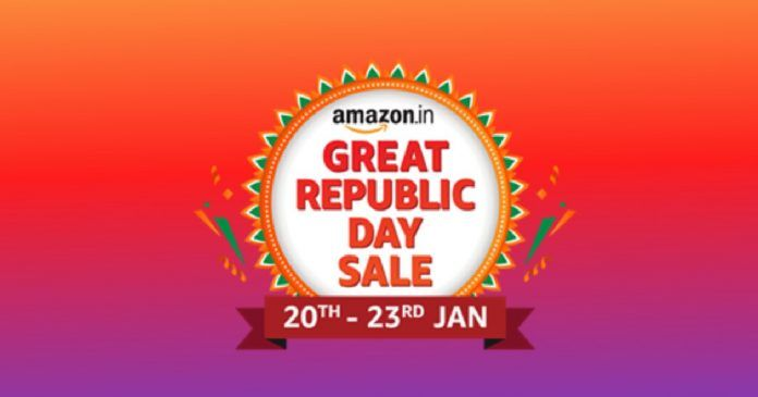 Amazon Great Republic Day Sale to start on Jan 20