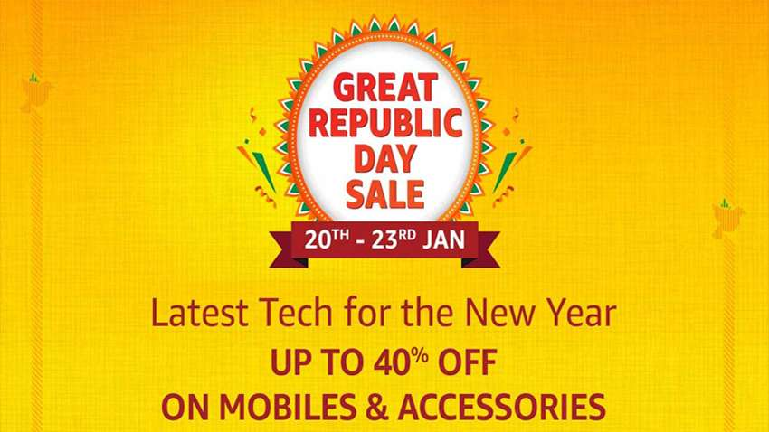 Amazon Great Republic Day Top offers, discounts on smartphones