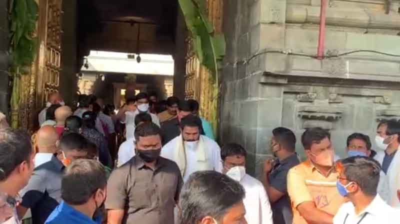 Bawan Kalyan Visit Tirupati- Updatenews360