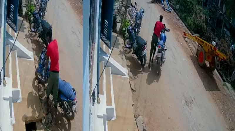 Bike Theft CCTV- Updatenews360