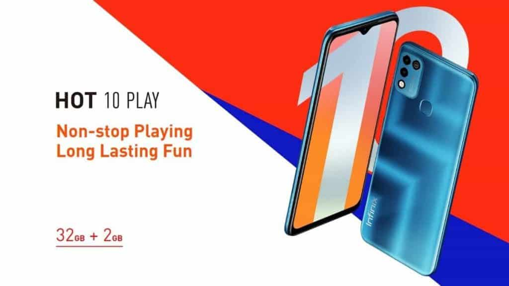 Infinix Hot 10 Play launched with Mediatek Helio G25