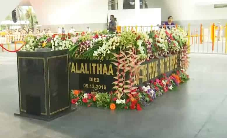 Jayalalitha memorial - updatenews360