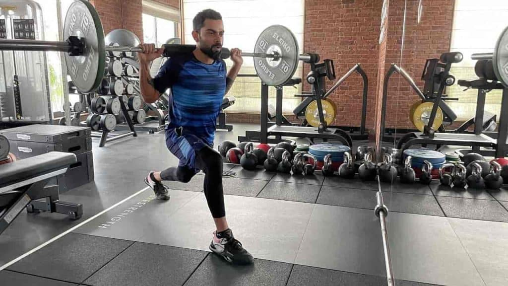 Kohli workout - updatenews360