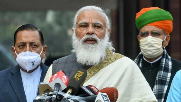 Modi_Parliament_Press_meet_UpdateNews360