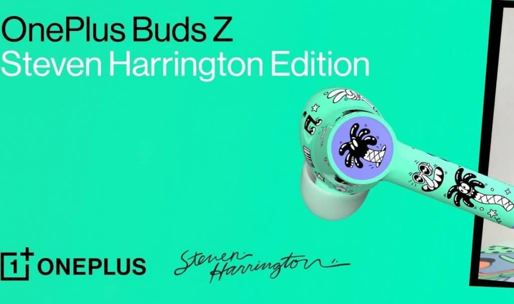 OnePlus Buds Z Steven Harrington Limited Edition launched in India
