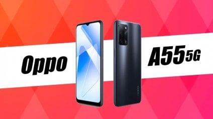 Oppo A55 5G announced with MediaTek Dimensity 700 SoC and 5000mAh battery