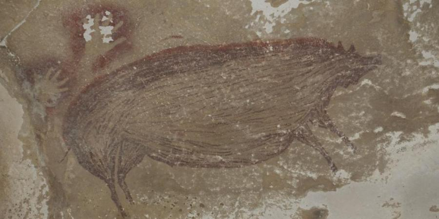 Pig_Painting_45000_Years_Ago_UpdateNews360