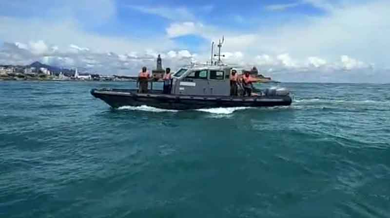 Police Raoming Sea- Updatenews360