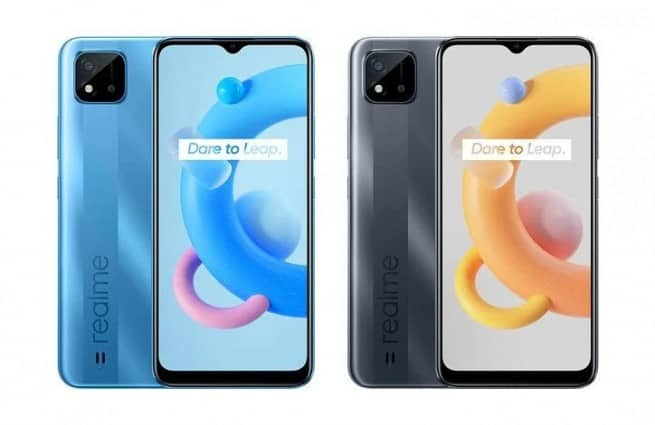 Realme C20 to feature 5000mAh battery, renders and key specifications surface