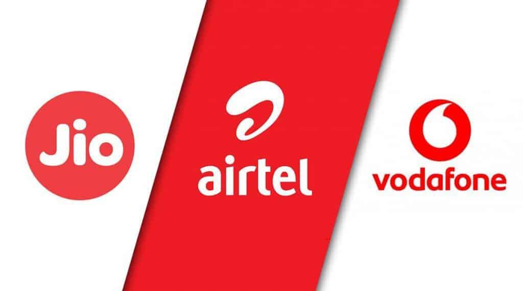 Reliance Jio vs Vi vs Airtel Prepaid plans under ₹1000 that offer 2GB data per day