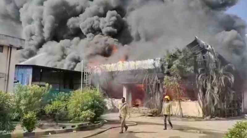 Rubber Factory Fire - Updatenews360