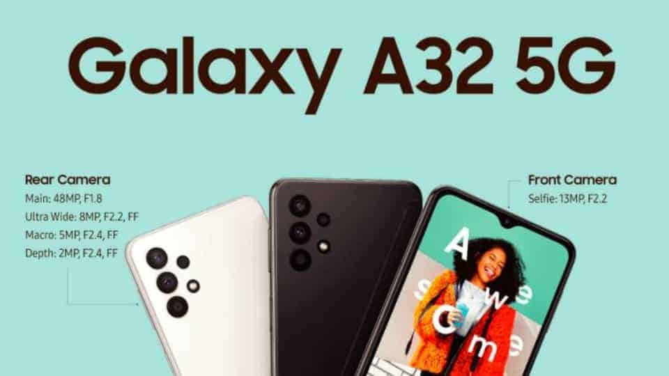 Samsung launches the Galaxy A32 5G, its cheapest 5G phone to date