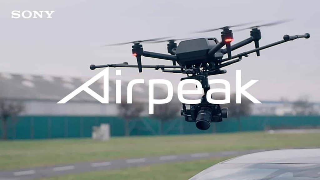 Sony previews Airpeak drone with Alpha camera system