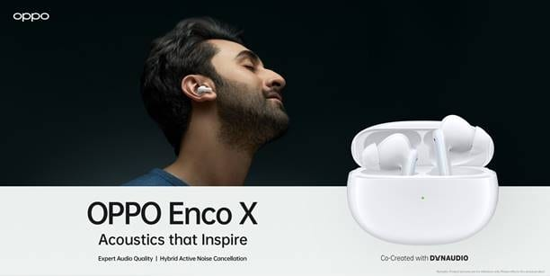 Oppo Enco X truly wireless earbuds launched in India for Rs 9990