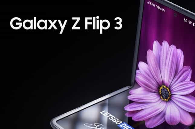 Samsung Galaxy Z Flip 3 Specifications, Price tipped
