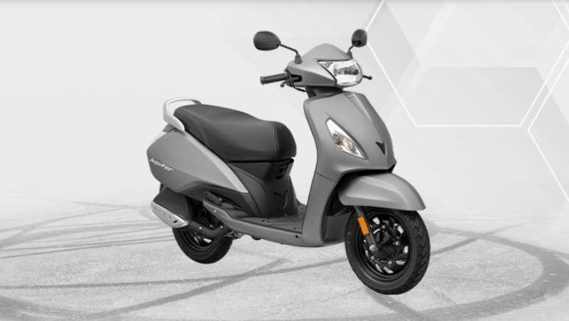 TVS Jupiter's most affordable variant launched; priced at Rs 63,497