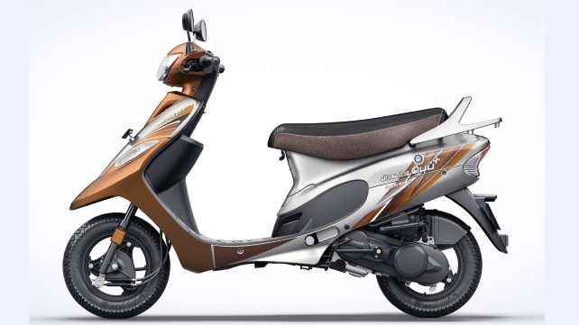 TVS Scooty Pep Plus limited edition model launched in Tamil Nadu