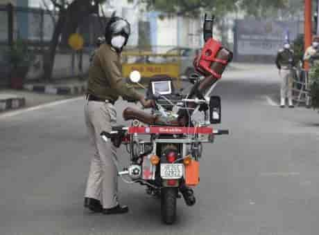 DRDO-developed Rakshita bike ambulance handed over to CRPF | Know key features of this emergency vehicle