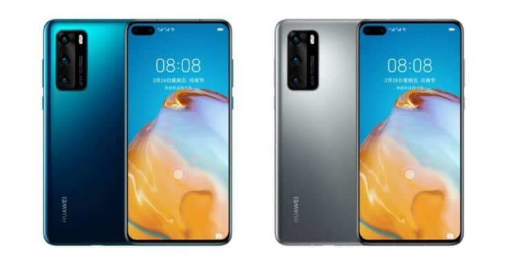 Huawei P40 4G announced with Kirin 990 4G chipset
