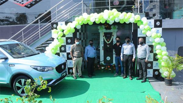 MG Motor & Tata Power Set Up The First 50 kW Superfast EV Charging Station