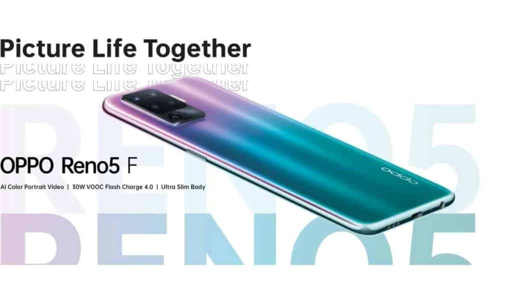 Oppo Reno 5F launch set for March 22, brings quad-rear cameras, fast charging