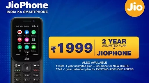 Reliance Jio announces New JioPhone 2021 Offer