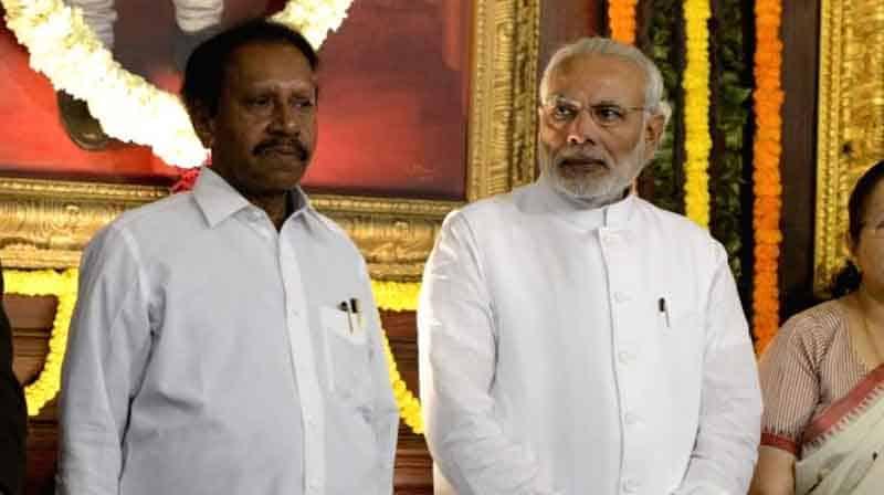 Thambidurai Meet Modi- Updatenews360