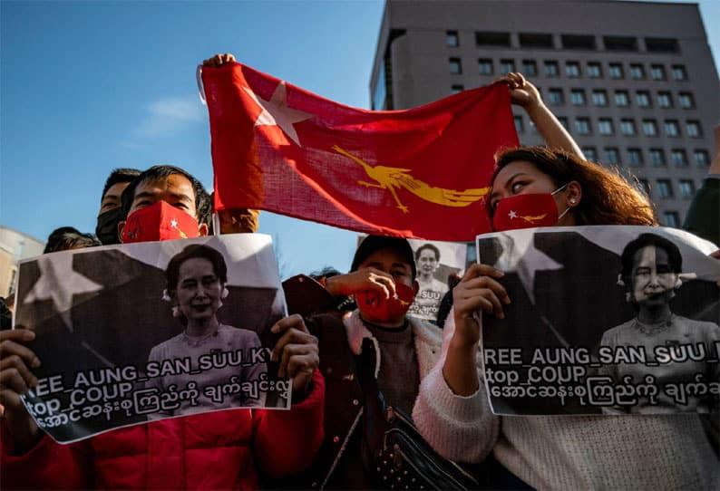 myanmar protest - updatenews360