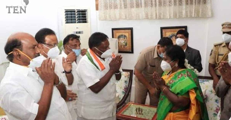 narayanasamy meet tamilisai - updatenews360