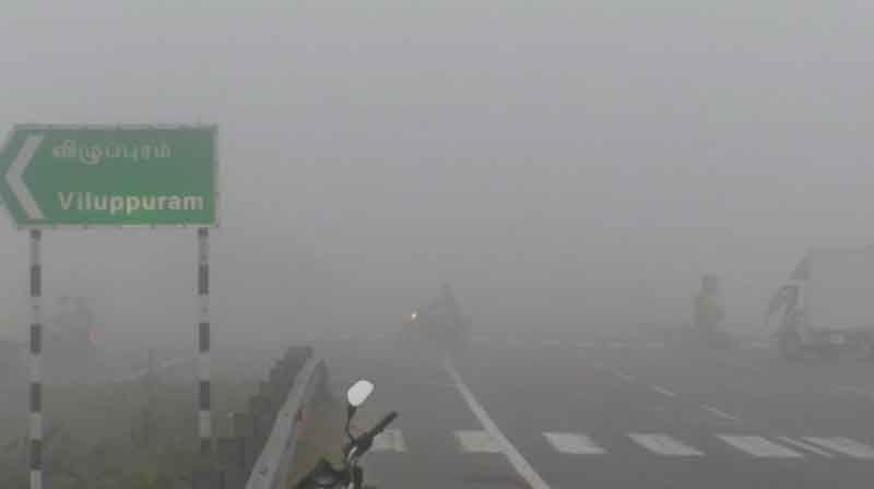 villupuram Fog -Updatenews360