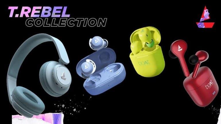 Boat launches TRebel range of headphones and earphones for women