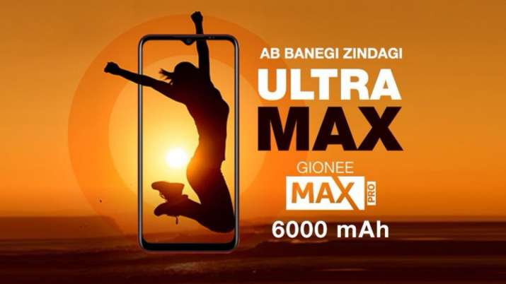 Gionee Max Pro with 6000mAh battery launched in India