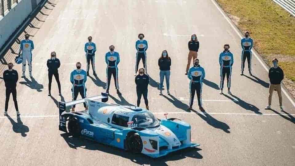 Hyundai partners Forze Racing to build world's fastest hydrogen race car
