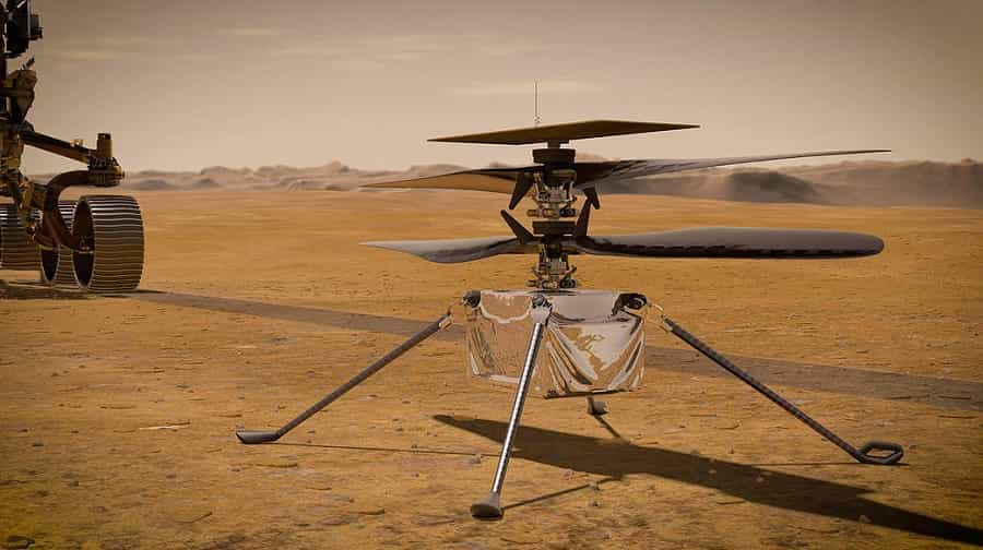 NASA's Mars Rover Perseverance Is Set to Fly a Mini-Helicopter on Red Planet