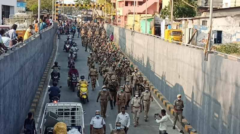 Police March -Updatenews360