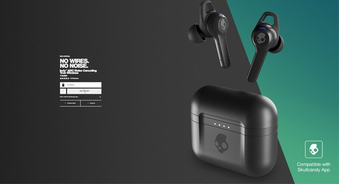 Skullcandy Launches Indy ANC true wireless earbud