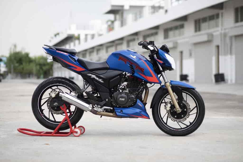 TVS Apache RTR 200 4V Single-Channel ABS trim launched with riding modes