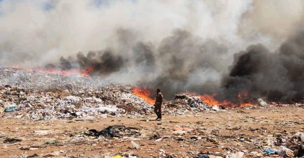 Vellalore garbage dump 3- - updatenews360