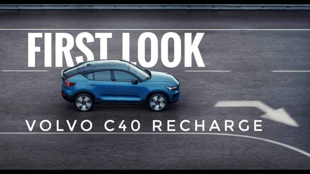 Volvo launches new all-electric C40 Recharge with more than 400-kms range
