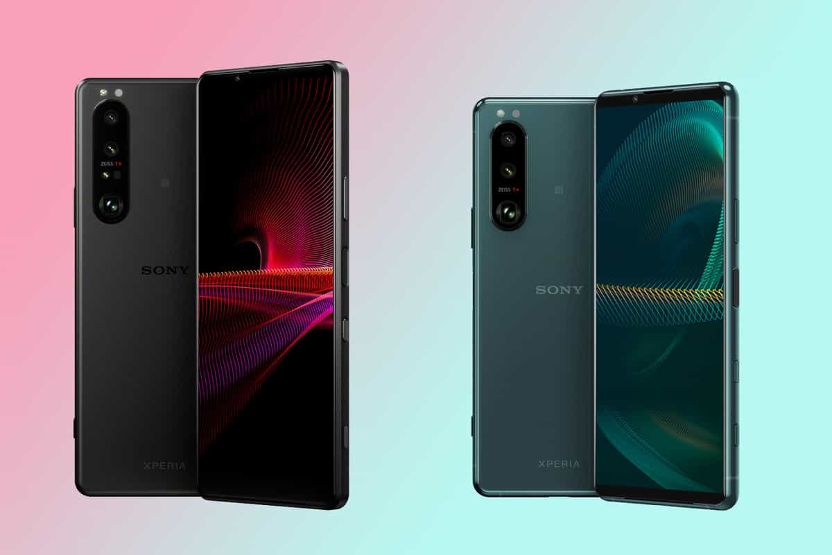 Sony Xperia 1 III and 5 III announced with 120Hz screens, variable telephoto lenses