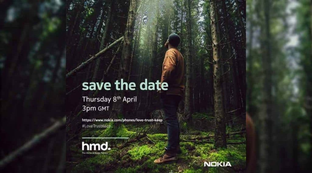 HMD Global to host a launch event on 8 April