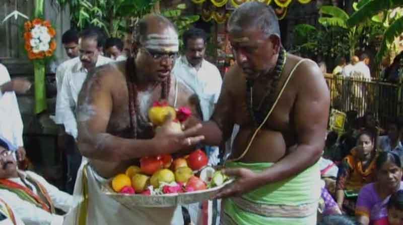 Kalahsthi Temple Priest -Updatenews360